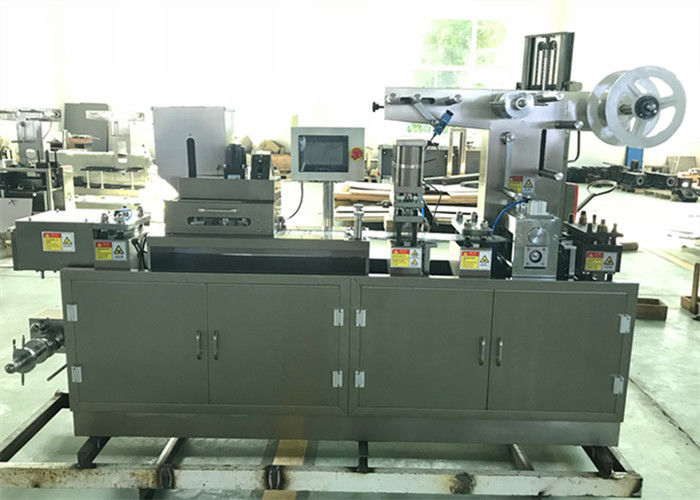 Small Business Automatic Blister Packing Machine the machine feeder can customized